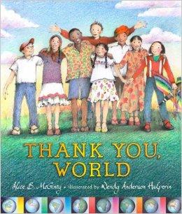 Thank You World Children's Books